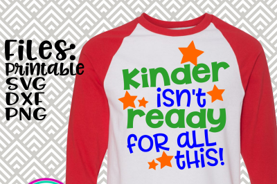 Kinder Isn't Ready For All This!