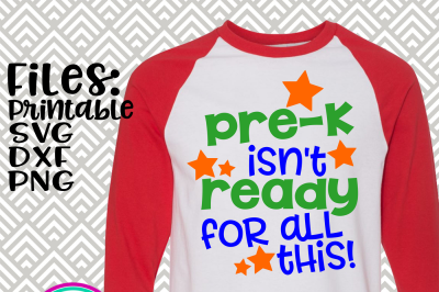 Pre-K Isn't Ready For All This!