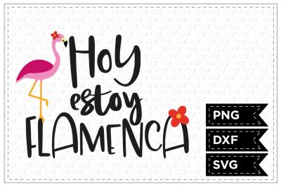 Hoy estoy flamenca