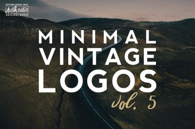Vol.5 | 20 Minimal Vintage Logos