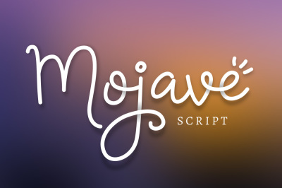 Mojave Script + Extras