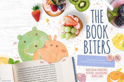 The Book Biters +Bonus Cards