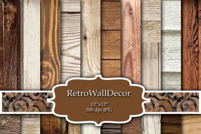 Rustic Wood Digital Paper