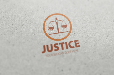 Justice Logo Template
