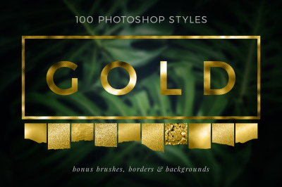 Gold Styles & Bonus Extras Bundle