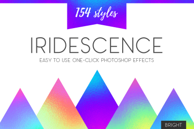 Iridescence Layer Styles - Bright