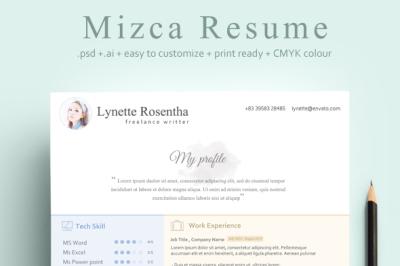 Mizca Resume