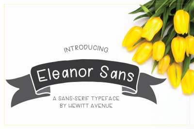 Eleanor Sans Handwritten Font