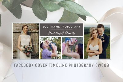 Facebook Photography Template CW009