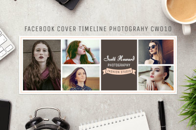 Facebook Timeline Cover Template Photography CW010