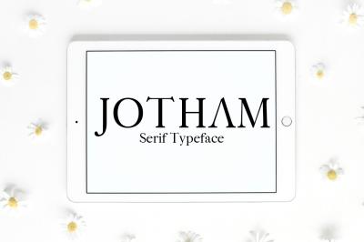 Jotham Serif Typeface