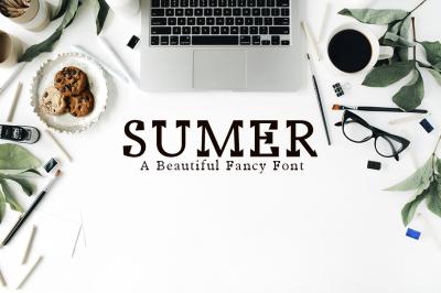 Sumer Fancy Font Family