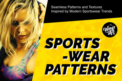 Colourful Sports and Leisurewear Patterns