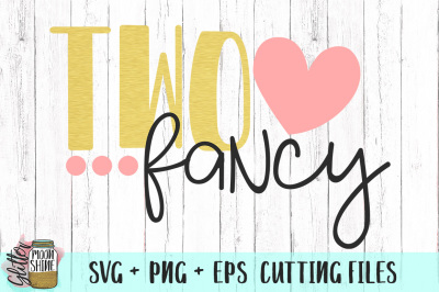 Two Fancy SVG PNG EPS Cutting Files
