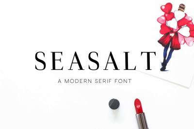 Seasalt - A Modern Serif Font