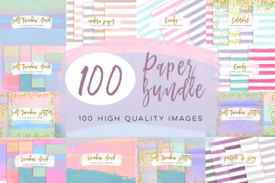 Paper watercolor bundle sale