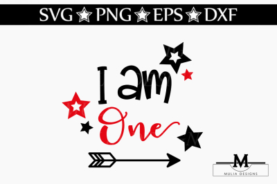 I Am One SVG