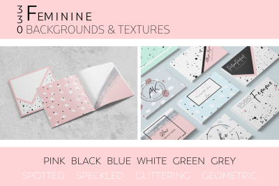Feminine Backgrounds and Textures