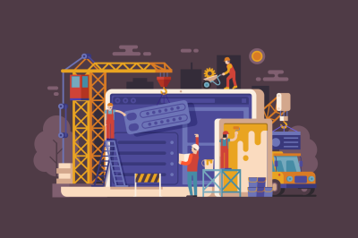 Site Maintenance Page Background