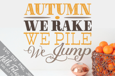 Autumn Leaves SVG Cutting Files