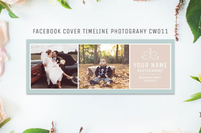 Facebook Timeline Cover Template Photography CW011