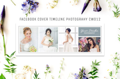 Facebook Timeline Cover Template Photography CW012