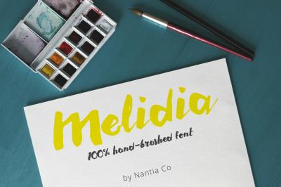 Melidia Font