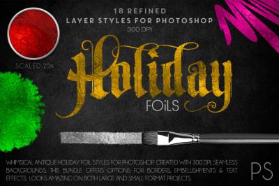 Holiday Foils