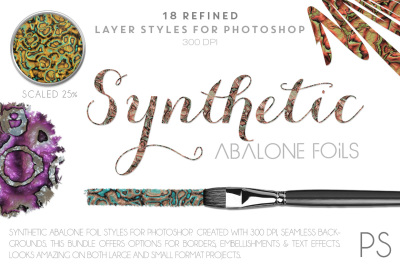 Synthetic Abalone Foils
