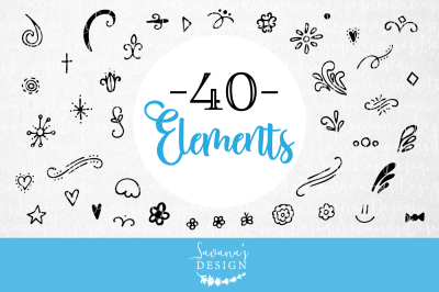 Vector Elements Bundle Pack