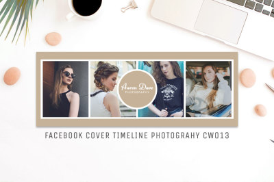 Facebook Timeline Cover Template Photography CW013