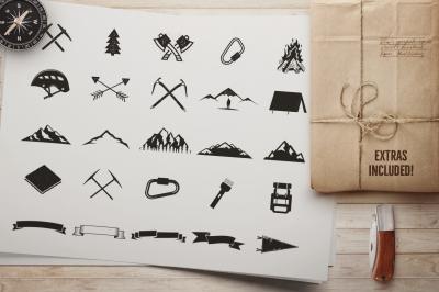 Outdoor Activities Branding Kit