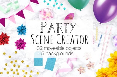 Party Scene Creator - Top View