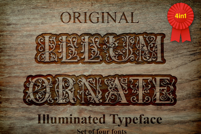 IllumOrnate - Font