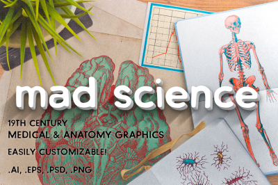 Mad Science - Graphics Pack