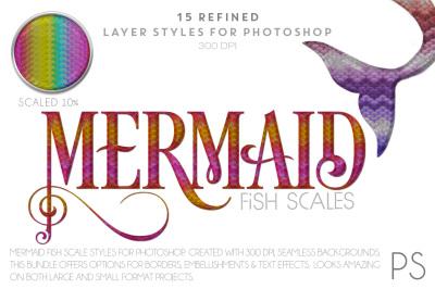 Mermaid Fish Scales