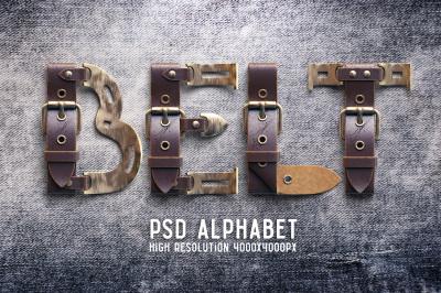 Belt Alphabet