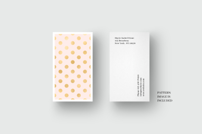 Business card template with palm and monstera leaves