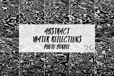 Abstract Water Reflections Photo Bundle