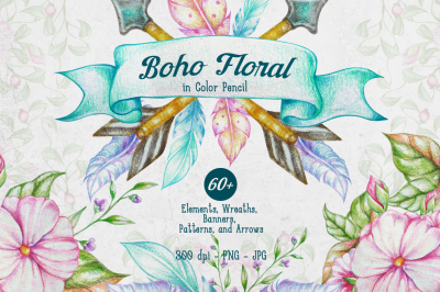 Boho Floral Collection