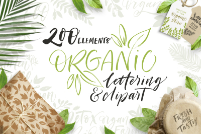 Organic lettering pack.