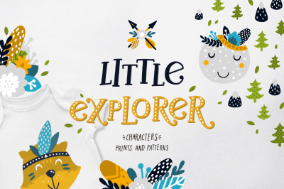 Little explorer - Boho collection