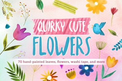 Quirky Cute Flowers
