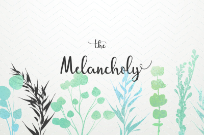 The Melancholy - flowers and leaves