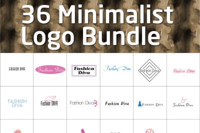 36 Minimalist Logo Pack 3