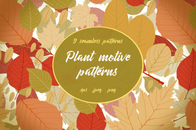 Plant motive patterns