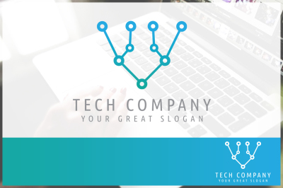 Abstract Technology Company - Logo