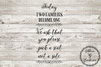 Wedding Sign Set