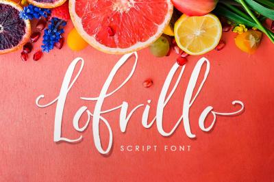 Lofrillo Modern Calligraphy Font