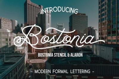 Bostonia (3 Font)